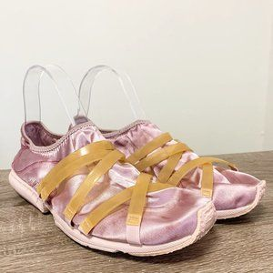 Puma Satin Strappy Flat Sneakers